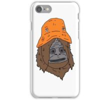 Sassy and the Orange Hat iPhone Case/Skin