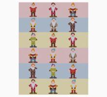 Seven Dwarfs Kids Tee