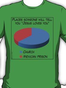Humor: Jesus Loves You T-Shirt