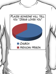 Humor: Jesus Loves You T-Shirt