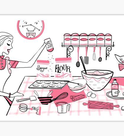 Baking Day Fun Sticker