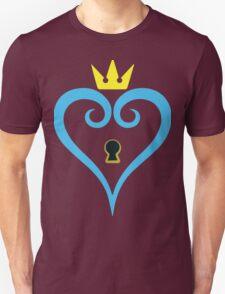 Kingdom Hearts-Heart Keyhole Without wings -fan art- Unisex T-Shirt