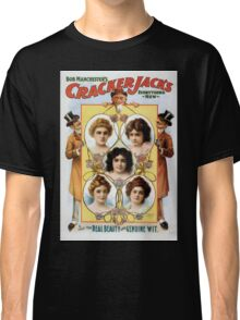 Performing Arts Posters Bob Manchesters Cracker Jacks everything new 1059 Classic T-Shirt