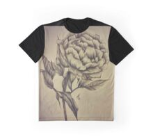 Sepia Peony Graphic T-Shirt
