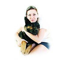 Tanya and Lex Photographic Print