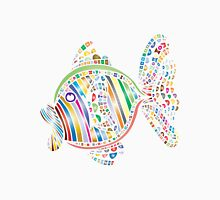Abstract Colorful Fish Unisex T-Shirt