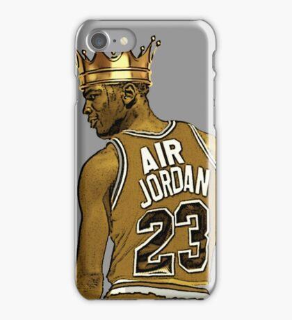 """Michael """"Air"""" Jordan - King iPhone Case/Skin"""