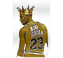 "Michael ""Air"" Jordan - King Poster"