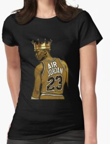 "Michael ""Air"" Jordan - King Womens Fitted T-Shirt"