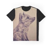 Foxy Pup Graphic T-Shirt