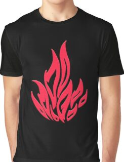 Flame Graphic T-Shirt