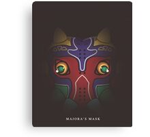 Chibi Majora's Mask Canvas Print