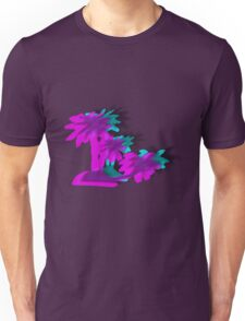 V A P O R W A V E Trees Unisex T-Shirt
