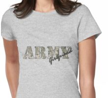 Army Girlfriend Womens Fitted T-Shirt