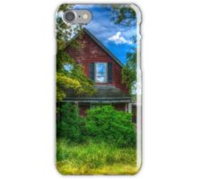 Abandoned Home in Lubec, Maine iPhone Case/Skin