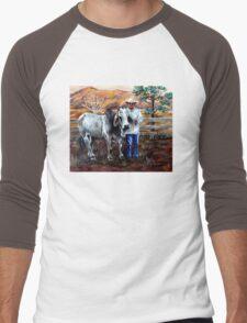 Mr Pratt, The Brahma  Men's Baseball ¾ T-Shirt
