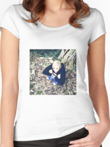 Miley Cyrus Tree  Women's Fitted Scoop T-Shirt