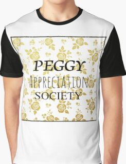 Peggy Appreciation Society Graphic T-Shirt