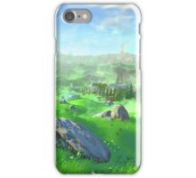 Breath Of The Wild - Field iPhone Case/Skin