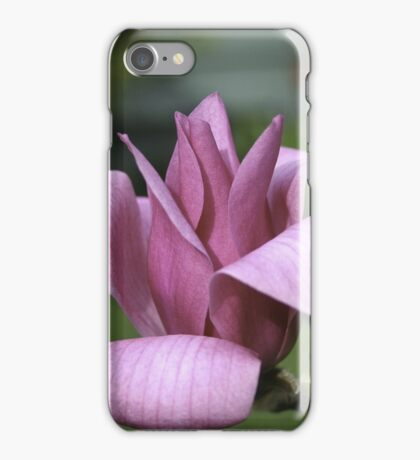 Pink Rhododenron iPhone Case/Skin