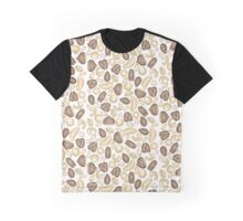 Nutty For Nuts - Healthy Vegan Food Design Graphic T-Shirt