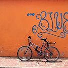 The Blue Ride by Maria  Gonzalez