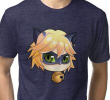 Ladybug Chat Noir Tri-blend T-Shirt