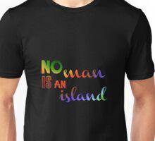 No Man Is An Island Literature Unisex T-Shirt