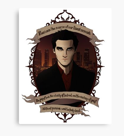 Angel - Angel/Buffy the Vampire Slayer Canvas Print