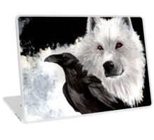 Ghost And Crow Laptop Skin