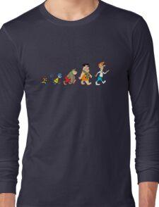 Hanna Barbera Evolution Long Sleeve T-Shirt