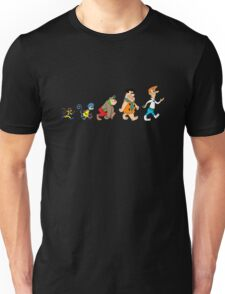 Hanna Barbera Evolution Unisex T-Shirt