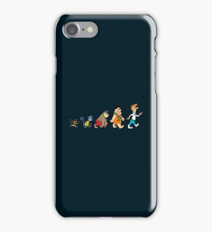 Hanna Barbera Evolution iPhone Case/Skin
