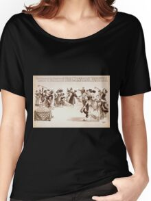 Performing Arts Posters Richards Pringles Rusco Hollands Big Minstrel Festival 1735 Women's Relaxed Fit T-Shirt