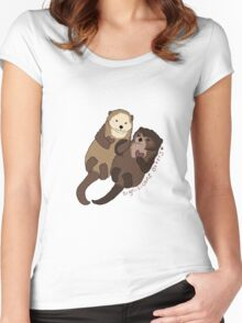 Significant Otters Women's Fitted Scoop T-Shirt