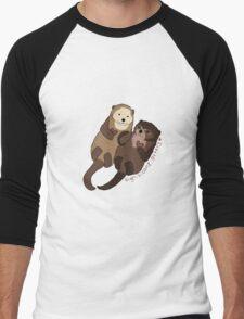 Significant Otters Men's Baseball ¾ T-Shirt