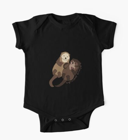 Significant Otters One Piece - Short Sleeve