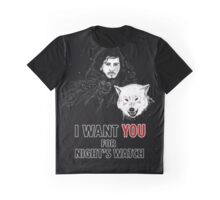 I Want You Graphic T-Shirt
