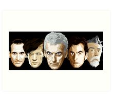 Doctor Who - The Doctors Art Print