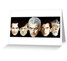 Doctor Who - The Doctors Greeting Card