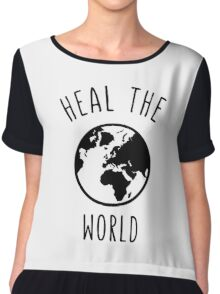 Heal The World Chiffon Top