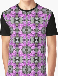 Muave ground flower photo 706b fractal A Graphic T-Shirt