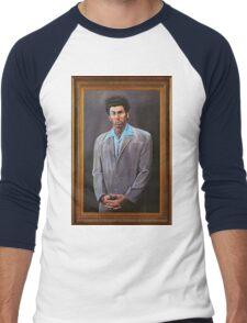 Cosmo Kramer's Portrait Men's Baseball ¾ T-Shirt
