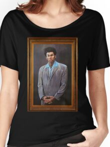 Cosmo Kramer's Portrait Women's Relaxed Fit T-Shirt