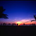 Sunset Viewers by Penny Smith