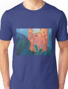 Sitting woman Unisex T-Shirt