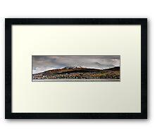 Ben Nevis Panorama Framed Print