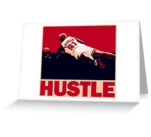 The Worm: Hustle Greeting Card