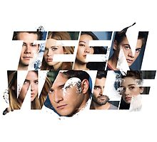 Teen Wolf Logo + Characters (WHITE ONLY) by fancyfandoms