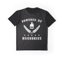 Powered by Moonshine Graphic T-Shirt